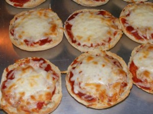 Marissa Myers, Team Aloha, Mini Pizzas