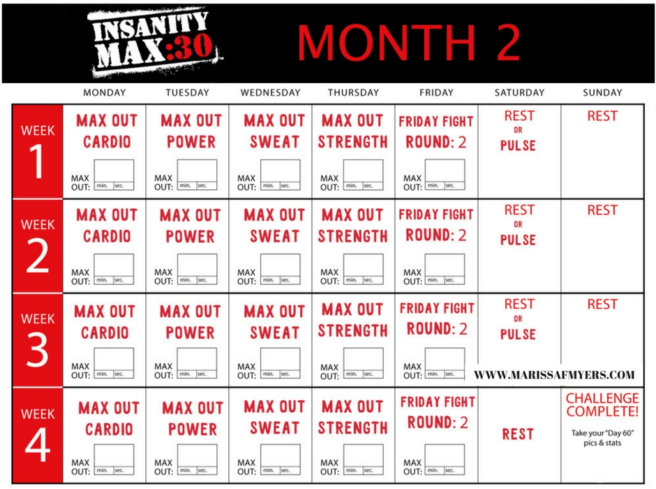 Beachbody's Insanity MAX:30, Insanity MAX:30, Insanity MAX:30 Program, Insanity MAX:30 Workouts, Insanity MAX:30 Meal Plan, Insanity MAX:30 Eating Plan, Marissa F Myers, Insanity MAX:30 Transformation, Insanity MAX:30 Results, Shaun T, Beachbody, MAX:30, Max out, Insanity MAX:30 Testimonial, Insanity MAX:30 Progress, Insanity MAX:30 Calendar, Insanity MAX:30 Schedule, Insanity MAX:30 Review, Beachbody Workout Program, Beachbody Programs, Insanity MAX:30 Calendar
